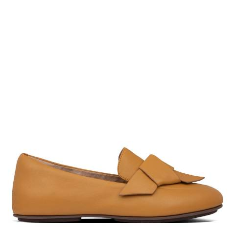 FitFlop Mustard Lena Knot Loafers