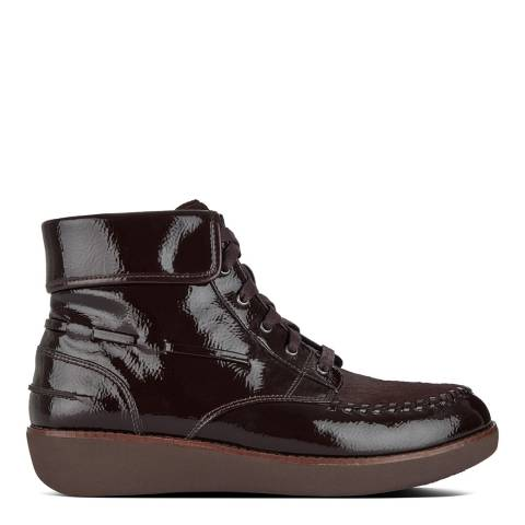 FitFlop Berry Gianini Lace Up Boots