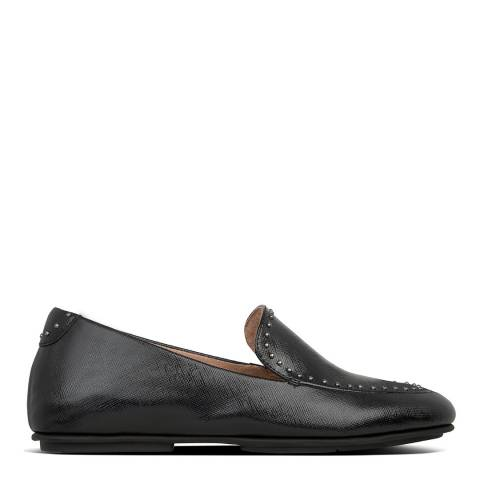 FitFlop All Black Lena Microstud Loafers