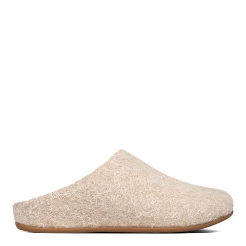 FitFlop Taupe Chrissie Textured Slippers