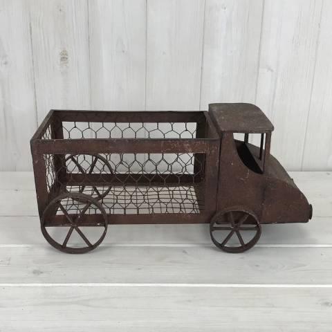The Satchville Gift Company Rusty Van Planter