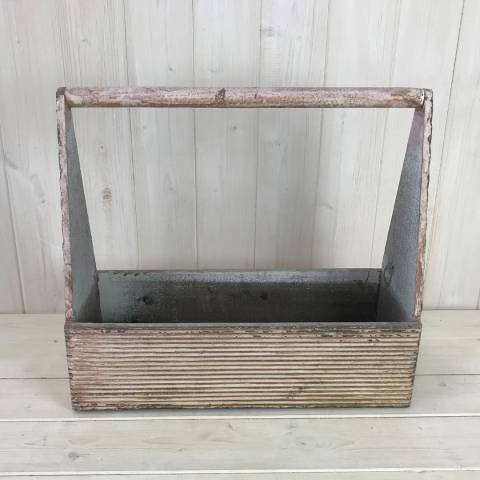 The Satchville Gift Company Large Wooden Carry Tray