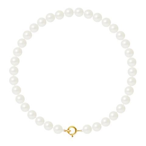 Mitzuko Natural White Pearl Bracelet 5-6mm