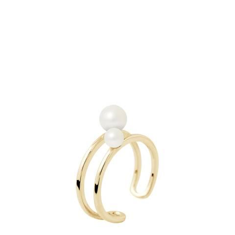 Mitzuko Natural White Pearl Ring
