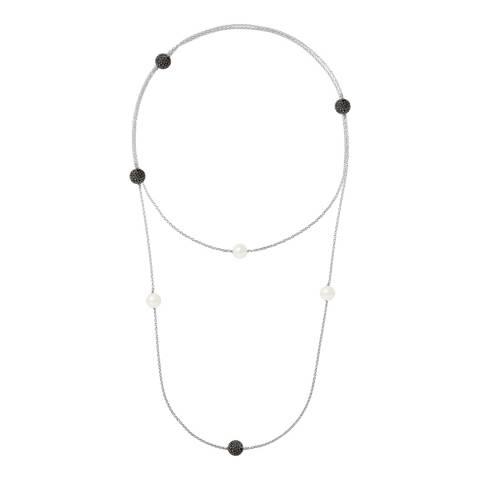Mitzuko Natural White Pearl Necklace 10-11mm