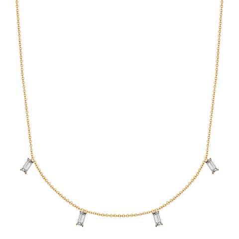 Glamcode Gold Crystal Neckace