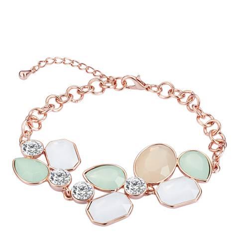 Saint Francis Crystals Rose Gold Bracelet with Swarovski crystals