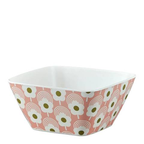 Orla Kiely Set of 6 Bubblegum Lollipop Flower Bamboo Bowl