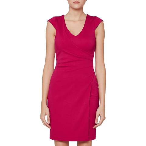 French Connection Red Lula Jersey Dress