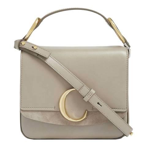 Chloe Motty Grey Chloe Small C Bag