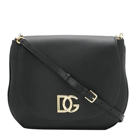 Dolce & Gabbana Black D&G Millennials Shoulder Bag