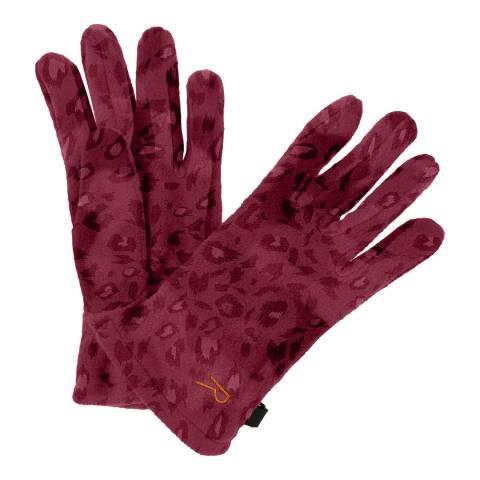 Regatta Kid's Red Fallon Gloves