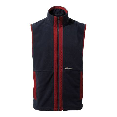 Craghoppers Navy/Red Bagshaw Vest