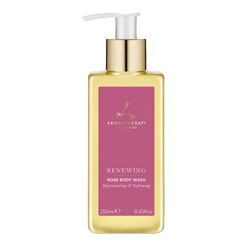 Aromatherapy Associates Renewing Rose Body Wash, 250ml