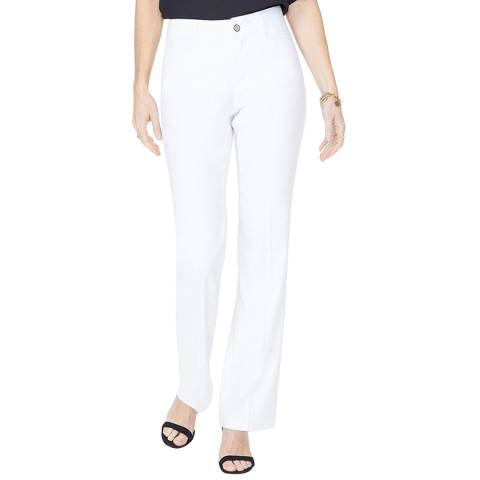 NYDJ Optic White Smart Stretch Trousers