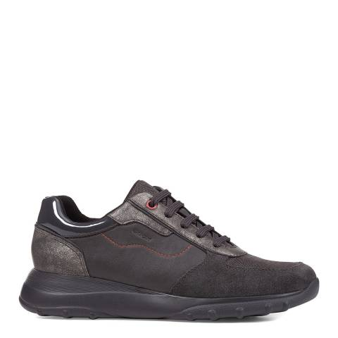 Geox Anthracite Alleniee Sneakers