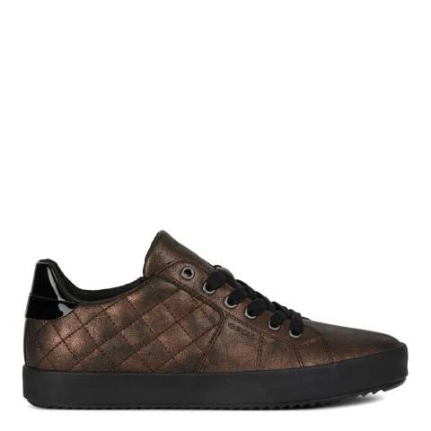 Geox Wine Blomie Low Glitter Sneakers