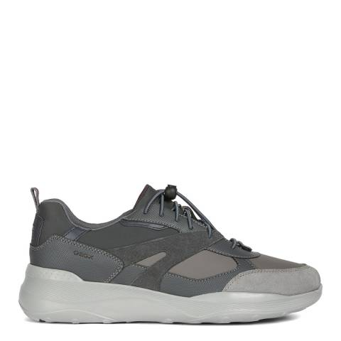 Geox Anthracite Allenio Sneakers