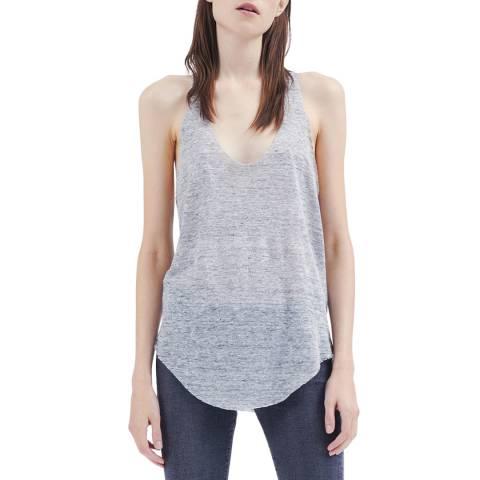 IRO Grey Kisla Linen Top