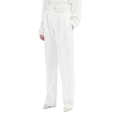 IRO White Lauzana Wool Trousers