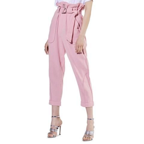 IRO Pink Harmony Cotton Trousers