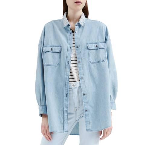 IRO Blue Paimpo Denim Shirt