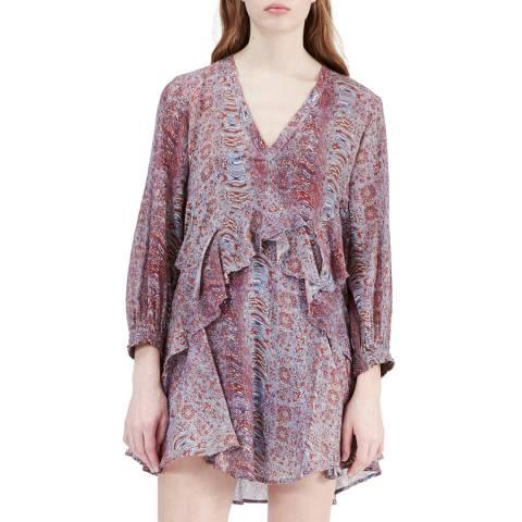 IRO Multi Print Ilacie Dress