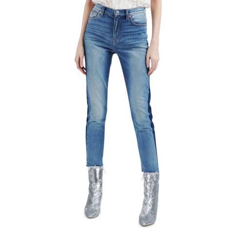 IRO Blue Carnac Slim Stretch Jeans