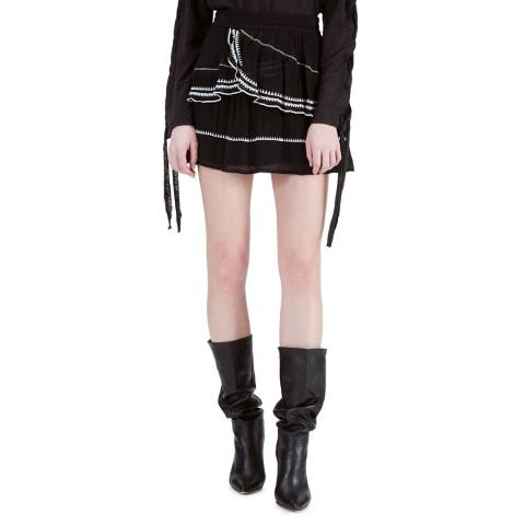 IRO Black Oviane Skirt