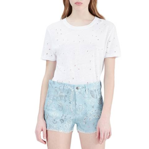 IRO White Clay Linen T-Shirt