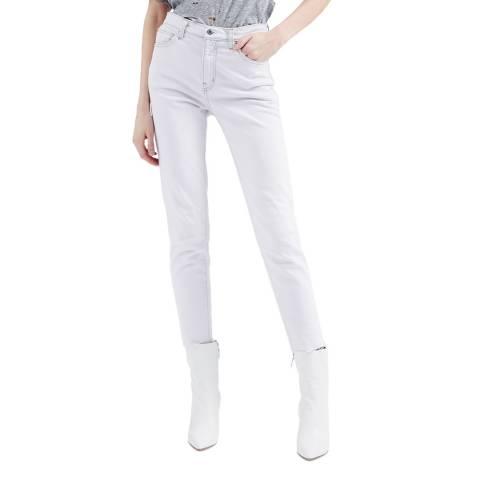 IRO Pink Josiecol Tapered Stretch Jeans