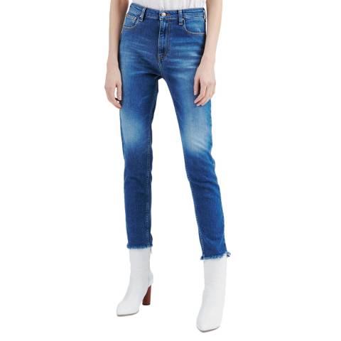 IRO Blue Thila Skinny Stretch Jeans