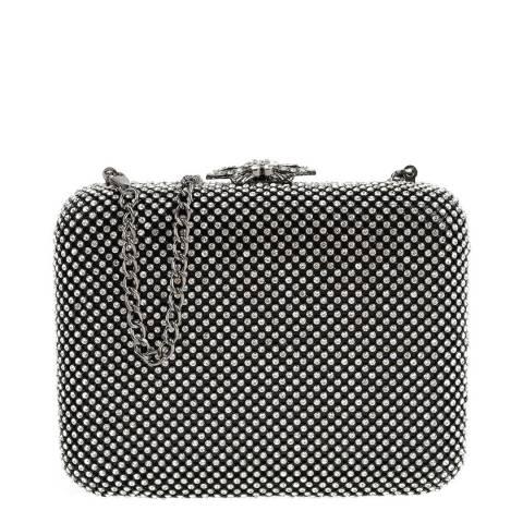 Carla Ferreri Black Crossbody Bag/Clutch