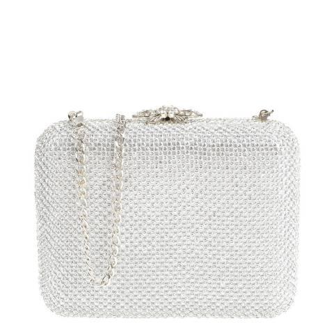 Carla Ferreri Silver Crossbody Bag/Clutch