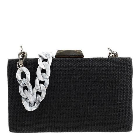 Carla Ferreri Black Shoulder/Clutch Bag