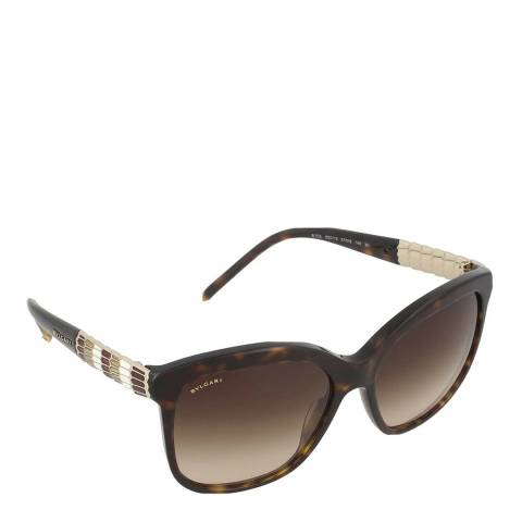 Bvlgari Women's Brown Bvlgari Sunglasses 57mm