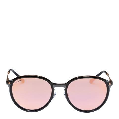 Bvlgari Women's Black/Gold Bvlgari Sunglasses 55mm