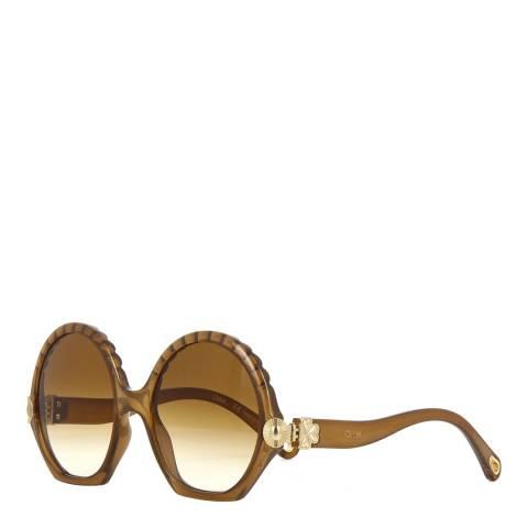 Chloe Women's Brown Chloe Sunglasses 56mm