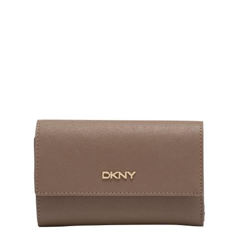 DKNY Khaki Med Trifold Wallet