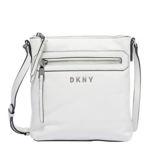DKNY White Tappen Crossbody