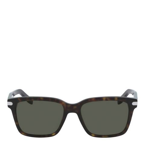 Ferragamo Tortoise Rectangle Sunglasses