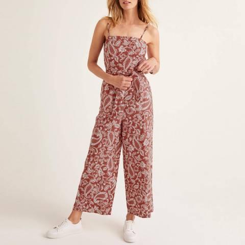 Boden Colette Linen Jumpsuit