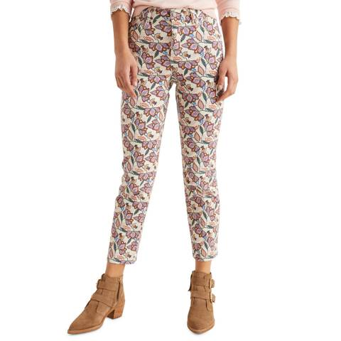 Boden Multi Printed Straight Jeans