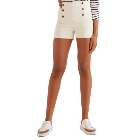 Boden White Fife Shorts