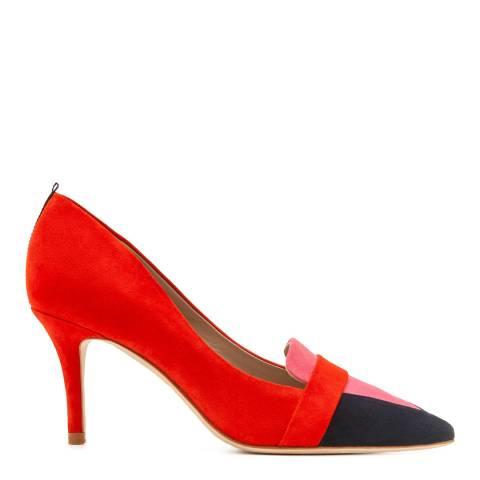 Boden Post Box Red Scarlett Heels