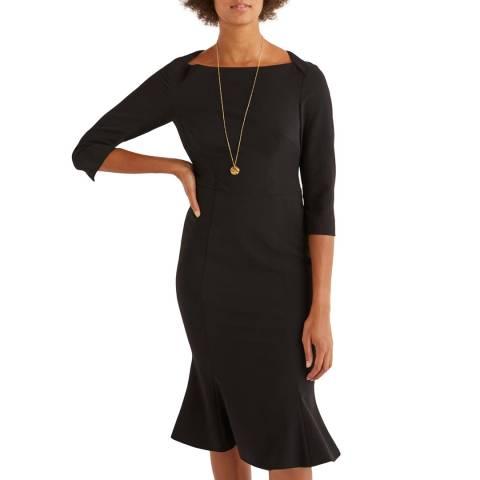 Boden Black Violette Dress
