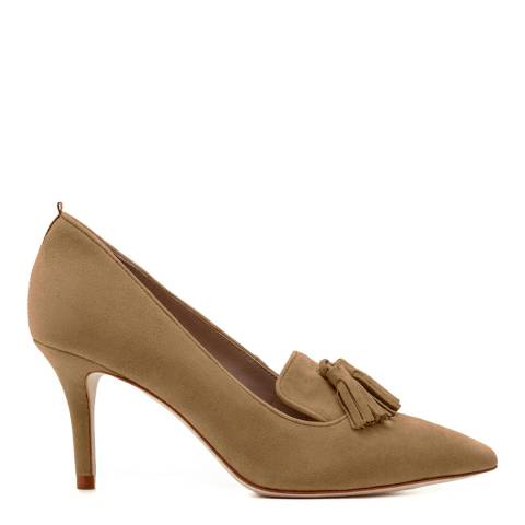 Boden Camel Leah Mid Heels