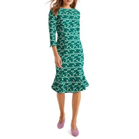 Boden Green Violette Dress