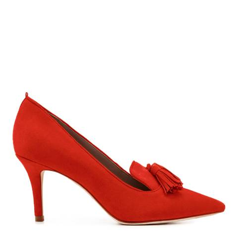 Boden Red Leah Mid Heels