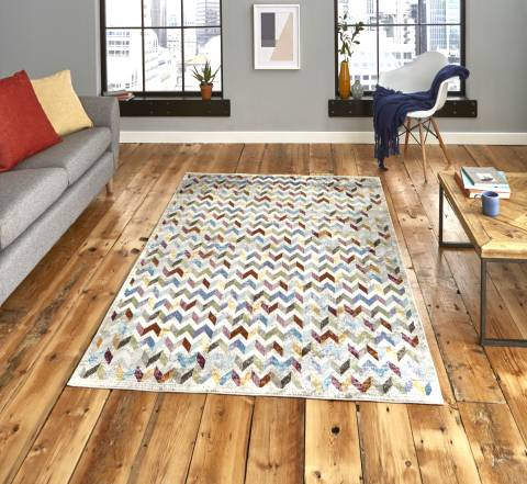 Think Rugs Multi 16th Avenue 36A 160x230cm Rug